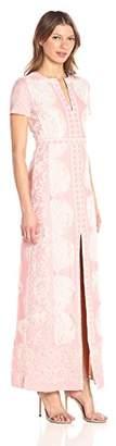 BCBGMAXAZRIA Azria Women's Cailean Knit Evening Gown, 4