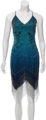 Haute Hippie Sleeveless Sequin-Embellished Dress