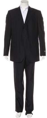 Dolce & Gabbana Striped Virgin Wool Suit w/ Tags