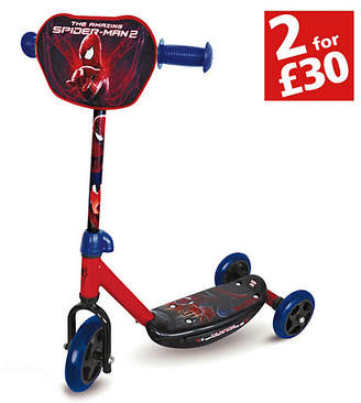 Spiderman Scooter - Red