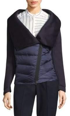 Peserico Scuba Collar Puffer Jacket
