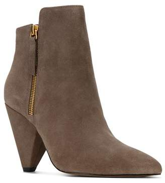 Kenneth Cole Women's Galway Pointed Toe Double Zip Booties