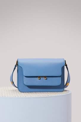 Marni Mini Trunk Shoulder Bag in Calfskin