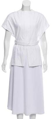 Protagonist Sleeveless Belted Top w/ Tags