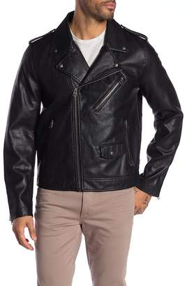 Levi's Faux Leather Moto Jacket