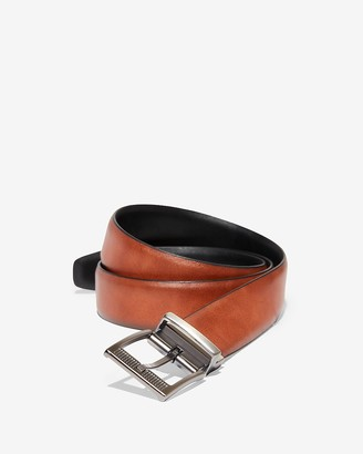Express Comfort Stretch Reversible Perforated Buckle Strap Belt
