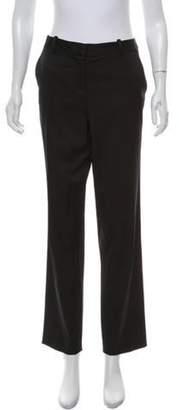 Lela Rose Crepe Pants Black Crepe Pants
