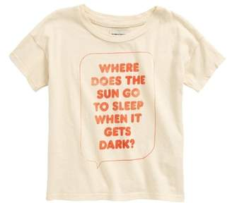 Bobo Choses Where Does the Sun Go Organic Cotton Tee