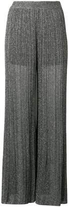M Missoni metallic sheen palazzo pants