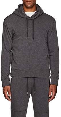 Barneys New York Men's Cotton-Blend Fleece Hoodie