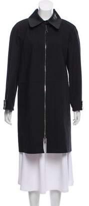 Louis Vuitton Mackintosh Knee-Length Coat
