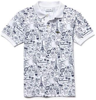 Lacoste (ラコステ) - BOYS 3点セット プリントポロシャツ (半袖)