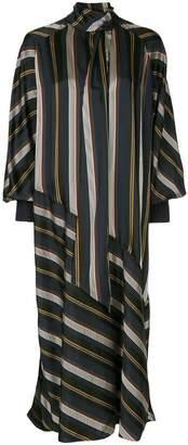 Roksanda striped midi dress