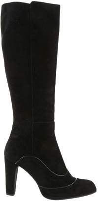 Tod's Black Suede Boots