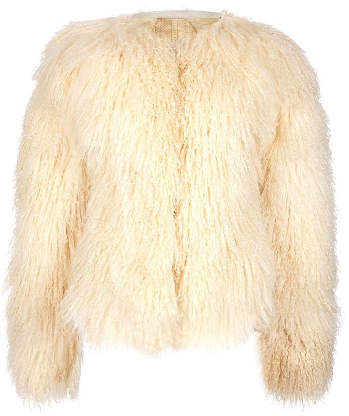 Alexander McQueen Vintage Mongolian jacket