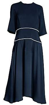 Marni Women's Relaxed-Fit Contrast Trim Dress