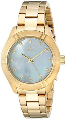 Invicta Women's 18324 Pro Diver Gold-Tone Stainless Steel Watch