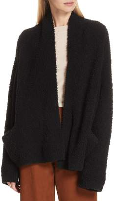 Vince Teddy Wool Blend Cardigan