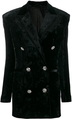 ATTICO double-breasted fitted blazer