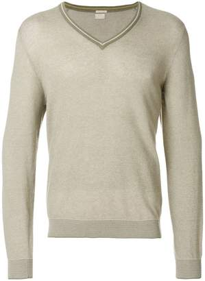 Massimo Alba V-neck Newark sweater