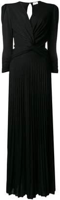 Elisabetta Franchi long V-neck dress