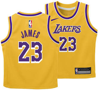 Nike LeBron James Los Angeles Lakers Icon Replica Jersey, Toddler Boys (2T-4T)