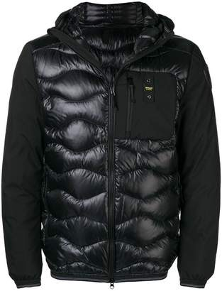 Blauer zipped down padded jacket