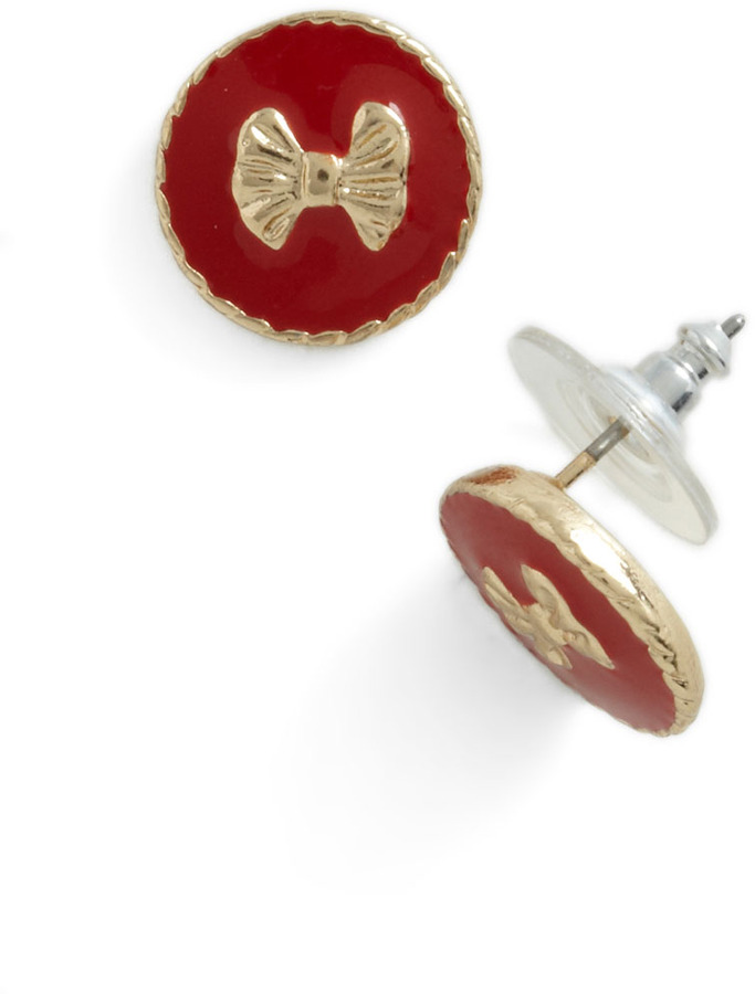 Me and My Boutique Earrings in Red