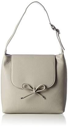 077ca1o003, Womens Shoulder Bag, Grau (Silver), 3.5 x 11 16 cm (W H D) EDC by Esprit
