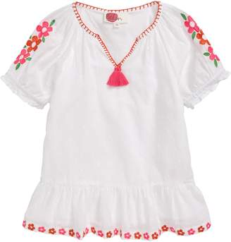 Boden Mini Floaty Boho Embroidered Top