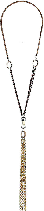 Topshop Fabric Bolt Chain Pendant