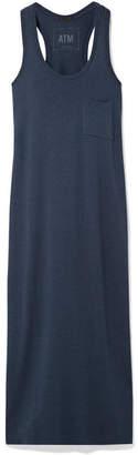 ATM Anthony Thomas Melillo Stretch-modal Jersey Midi Dress - Storm blue