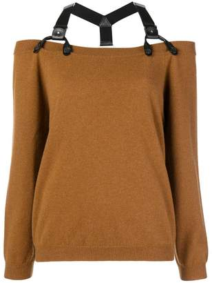 Moschino halter neck jumper