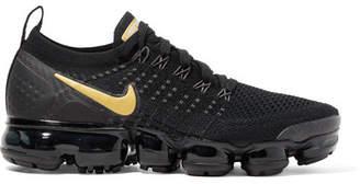 Nike Air Vapormax 2 Flyknit Sneakers - Black
