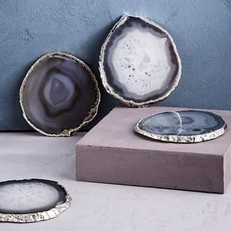 west elm Agate Coasters (Set of 4)