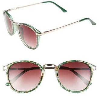 A.J. Morgan 48mm 'Castro' Sunglasses $24 thestylecure.com