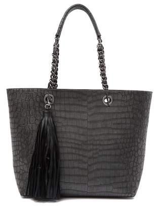 Sydney Love Croco Embossed Tote Bag