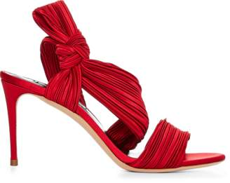 Casadei Plisse Sandal