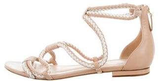 Alexandre Birman Leather Caged Sandals