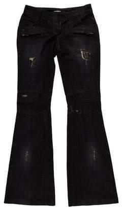 Balmain Low-Rise Flared Jeans