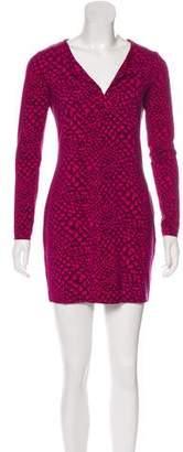 Diane von Furstenberg Printed Reina Dress