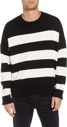 The Kooples Classic Fit Striped Sweater