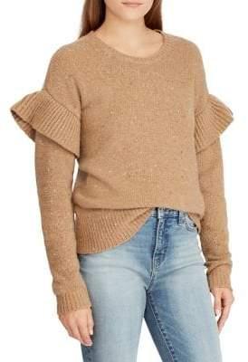 Lauren Ralph Lauren Relaxed-Fit Ruffled Sweater