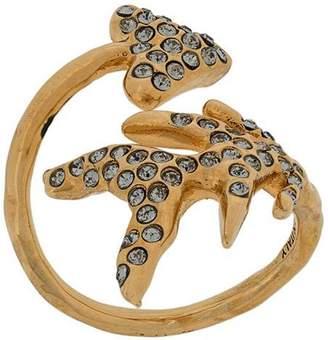 Givenchy embellished arrow cuff