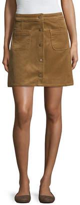 Arizona Corduroy Skirt-Juniors