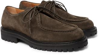 Mr P. Jacques Suede Derby Shoes