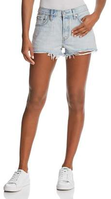 Levi's 501® Denim Shorts in Bleached Authentic