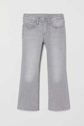 H&M Superstretch Bootcut Jeans - Gray