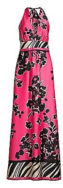 Milly Women's Angel Jungle Floral A-Line Maxi Dress - Size 0