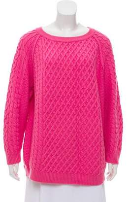 Chinti and Parker Wool Cable Knit Sweater